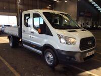2015 Ford Transit Crew Cab Tipper 7 Seats