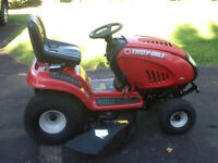 "Troy-Bilt 22hp 46"" Deck (electric PTO w/ mulch kit) Lawn Tractor"
