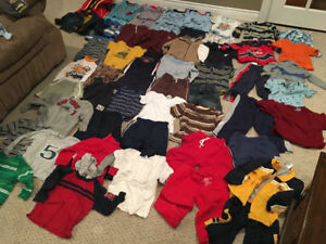 Boys clothes size 24 months (2T)