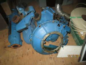 Chris Craft  Marine Ford 427 engine parts. carbs, bell housing.