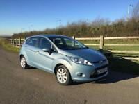Ford Fiesta 1.25 2009 Zetec finance available from £30 per week