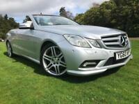 *6 MTHS WARRANTY*2010(60)MERCEDES E250 2.1 CDI BLUE-EFF-SPORT CONVERTIBLE*(NAV)