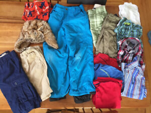 Size 10. Brand name boys' clothing (Gap, Orage, LL Bean, etc.)