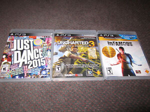 April Assortment of PS3 Games - NEW, but store-opened