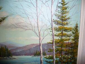 "Nora Roberts ""Untitled"" Original Oil Painting Stratford Kitchener Area image 5"
