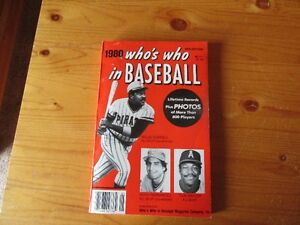 VINTAGE BOOK - WHO'S WHO IN BASEBALL - REDUCED!!!!