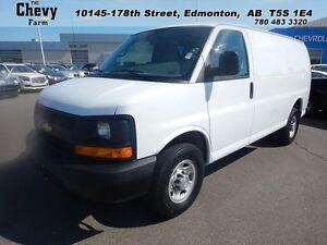 """2015 Chevrolet Express Cargo Van RWD 2500 135""""   H.D. Trailering"""