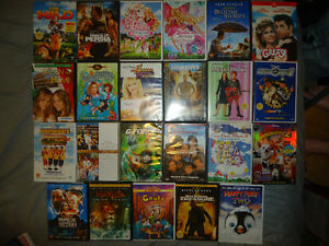 DISNEY AND OTHER DVDS