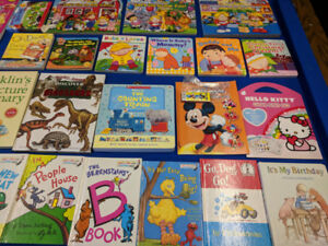Large number of Kids books