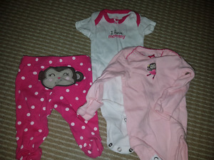 Newborn Baby girl outfits and onesies