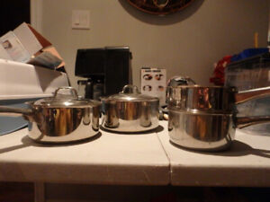 Stainless Steel Pot Set - set of 4