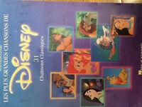 Partition pour piano et guitare-chanson de Disney