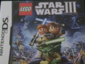 Lego Star Wars 3: The Clone Wars with booklet