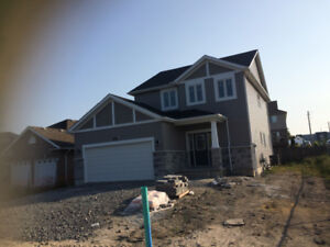 2 story brand new house for rent available from November 1/2017