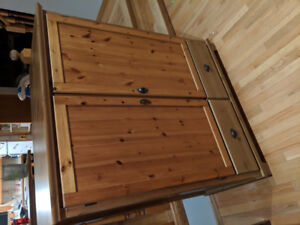 Real Wood Storage Cabinet