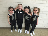 DANCE CLASSES FOR AGES 2-14
