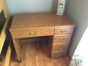 Beautiful maple Sewing desk