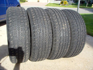 COOPER WEATHERMASTER, S/T2, 215/65/R16 STUDDED TIRES