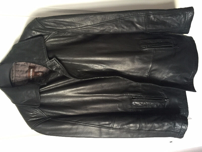 Used Danier Leather jacket with insulation
