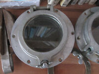 antique boat Chrome port holes $100.00 each