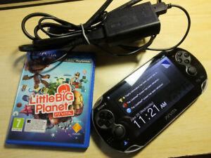 Vita OLED with power adapter & Little big planet & Silent Hill