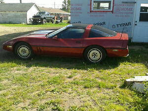 1985 Chevrolet Corvette Coupe (2 door)