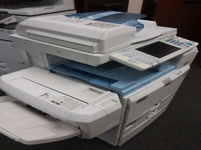 Ricoh Aficio Mp C3001 Tabloid Color Copier Printer Scanner
