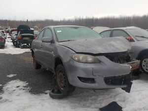 2004 Mazda 3 Now Available At Kenny U-Pull Cornwall