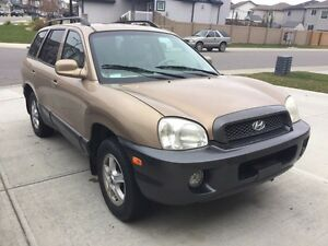 2002 Hyundai Santa Fe v6 in a great condition. Great deal!!