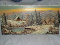 Beautiful German landscape oil painting-collectable/investment