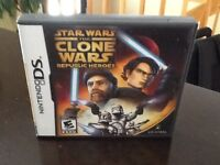 Star Wars the clone wars republic heroes for Nintendo DS