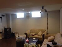 2 Bedroom basement available for rent ( Brand new) in MILTON