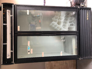 Commercial 2 Glass Door Drink Fridge