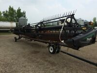 2013 Macdon FD-75 flex draper 40 ft (mechanic special)