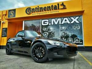 """(Honda S2000) G.MAX Flow Forged 18"""" Wheels Continental MC6 Tyres Mitcham Whitehorse Area Preview"""