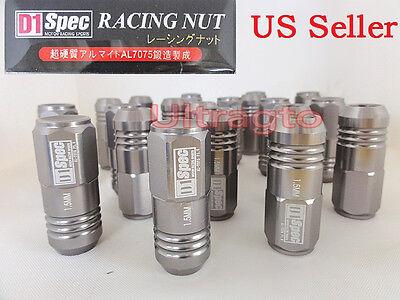 - UNIVERSAL JDM D1 Spec Racing Wheel Lug Nuts Screws Kit 12x 1.5 Honda Civic S2000