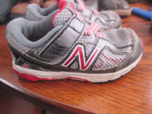 toddler sized New Balance sneakers FLEX and  winter boots-update