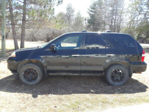 2001 Acura MDX  - AS IS