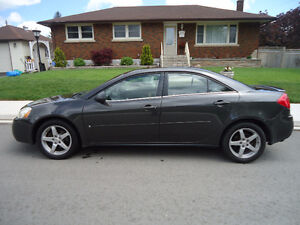 2007 Pontiac G6 Sedan with towing equipment for behind RV's
