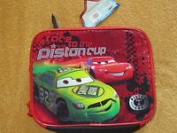 Brand new lunch bags (1 cars & 1 spiderman ) for sale BNWT