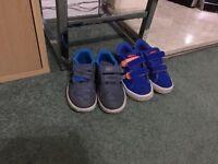 Boys addidas trainers size 8