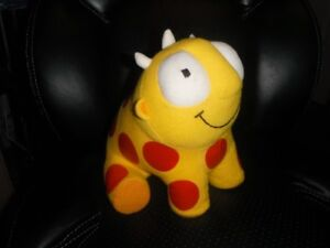 RARE Maggie and the Ferocious Beast Talking Plush toy