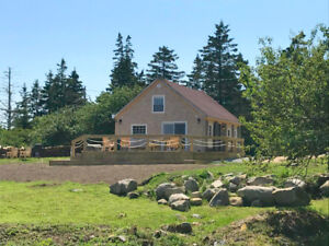 Waterfront home 2.5 hours from Halifax