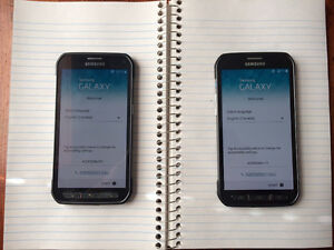 Samsung Galaxy S5 Active smartphones mint condition!!