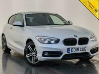 2018 BMW 120D SPORT AUTO SAT NAV AIR CONDITIONING 1 OWNER SERVICE HISTORY