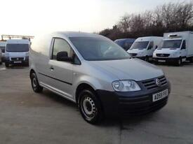 VOLKSWAGON CADDY 1.9 TDI PD (104PS) | 1 OWNER | METALLIC SILVER | 2009 MODEL