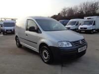 VOLKSWAGON CADDY 1.9 TDI PD (104PS) | 1 OWNER | METALLIC SILVER | NO VAT | 2009