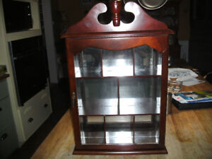 Small Wooden Wall Cabinet
