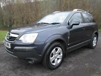 VAUXHALL/OPEL ANTARA 2.0 CDTI S 4X4 AUTOMATIC IN MET BLUE WITH ONLY 49,000 MILES