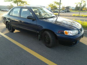 2002 Toyota Corolla, Low KMs